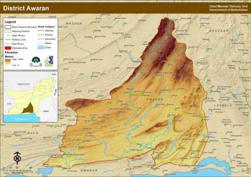 District Awaran